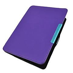 billige Tablett-etuier-Etui Til KOBO Fullbody Etuier Heldekkende etui Helfarge Hard PU Leather til