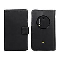 케이스 제품 Nokia 노키아 케이스 지갑 카드 홀더 스탠드 풀 바디 한 색상 하드 인조 가죽 용 Nokia Lumia 1020