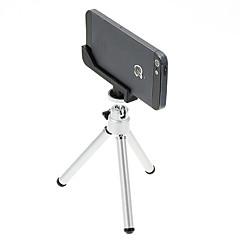 お買い得  携帯電話用三脚&アクセサリー-単一デッキつのセクションを持つI-12から2-SLミニデスクトップアルミ三脚&iPhone 5S / 5三脚マウントホルダー