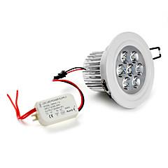5500 Verzonken lampen Plafondlampen Verzonken ombouw 7 LEDs Krachtige LED Natuurlijk wit 5500KK AC 85-265V