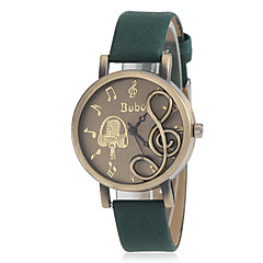 preiswerte Tolle Angebote auf Uhren-Damen Armbanduhr Schlussverkauf PU Band Charme / Modisch Schwarz / Rot / Braun