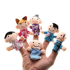 Zabawki Pacynka na palec Zabawki Słodkie Hobby Chłopcy / Dla dziewczynek Plusz
