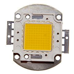 ZDM ™ DIY 100W 8000-9000lm dużej mocy ciepłe białe światło zintegrowany moduł LED (32-35v)