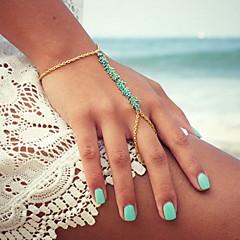 billige Armbånd-Dame Charm-armbånd Ringarmbånd Unikt design Håndlavet Mode Harpiks Legering Andre Smykker Fest Daglig Afslappet