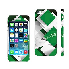 AIKUSU ® couverture de peau Color Design Mobile pour iPhone 5/5S mixte KSCT0013