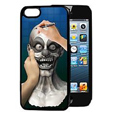 Для Кейс для iPhone 5 С узором Кейс для Задняя крышка Кейс для 3D в мультяшном стиле Твердый PC iPhone SE/5s/5