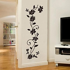 cheap Stickers & Decals-Romance Fashion Botanical Wall Stickers Plane Wall Stickers Decorative Wall Stickers, Vinyl Home Decoration Wall Decal Wall