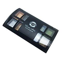 Nyolc szín szemhéjárnyaló por természetes és szép