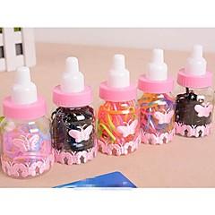 Lash ленты для волос в бутылках Молочные конфеты Цвет Малый резинки (1 бутылка)