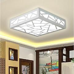 abordables Luces LED de Techo-Montage de Flujo Luz Ambiente - LED, Tradicional / Clásico Moderno / Contemporáneo, 90-240V, Blanco Cálido Blanco, Bombilla incluida