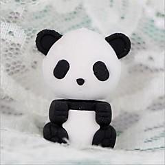 aranyos leválasztható panda alakú radír (véletlenszerű szín x 2 db) az iskolába / irodába