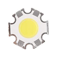 voordelige LED's-5W COB 450-500LM 6000-6500K Cool White Light LED Chip (15-17V, 300uA)