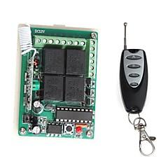 リモコンで12V 4チャンネルワイヤレスリモート電源リレーモジュール(DC 14V)