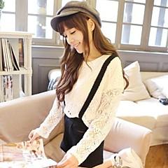저렴한 -여성의 복고풍 검은 색 모직 신문 모자