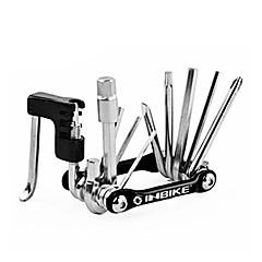 abordables Herramientas, Limpiadores y Lubricantes-INBIKE multifuncional herramienta de reparación de bicicletas negro con el cortador de la cadena