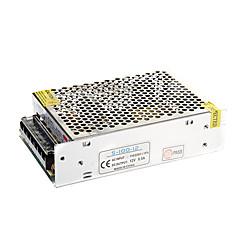abordables Regalo Gratis-8.5a 100w dc 12v a ac110-220v fuente de alimentación férrica para luces led