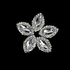 10 buc aliaj Marquise de cristal cu stras linie de accesorii varfurile degetelor de unghii arta decorativa