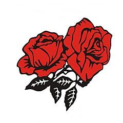 o pára-choque de rosas adesivos de carro