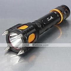 5 LED taskulamput 1000 Lumenia Tila XM-L2 T6 Säädettävä fokus Iskunkestävä Lipsumaton kädensija Ladattava Isku viiste varten