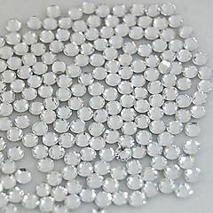 abordables Joyas de Uñas-1400pcs 2.5mm decoración del arte del clavo del rhinestone de cristal de brillo