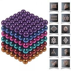 halpa -Magneettilelut Pieces 5 MM Magneettilelut Rakennuspalikat magneettipallojen Executive lelut Puzzle Cube Gift