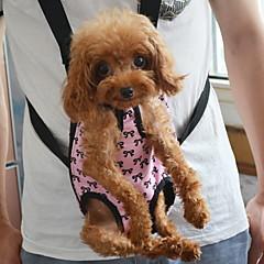 economico -Gatto Cane Trasportini e cucce da viaggio Zaino anteriore Animali domestici Copertine Portatile Con fiocchi Rosa Per animali domestici