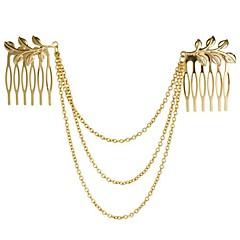 Χαμηλού Κόστους Κοσμήματα μαλλιών-Γυναικεία Κομψή Κράμα Χτενάκι