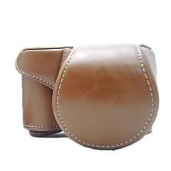hesapli -sony alfa a6000 Ilce-6000l için omuz askısı ile dengpin® koruyucu çıkarılabilir deri kamera çantası