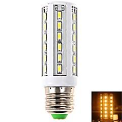 economico Lampadine LED-E26/E27 LED a pannocchia T 42 leds SMD 5630 Bianco caldo 1020lm 2800-3200K AC 100-240V