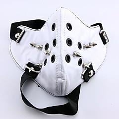 Maska Zainspirowany przez Tokyo Ghoul Cosplay Anime Akcesoria do Cosplay Maska Bílá PU Leather (skóra kompozytowa) Męskie