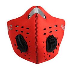 FJQXZ Bicicleta/Ciclismo Mascara Facial Unisex Secado rápido / A prueba de polvo / Resistente al Viento MallaRojo / Negro / Azul /