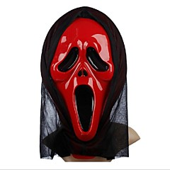 비명 PVC 까다로운 할로윈 마스크 (색상 랜덤)