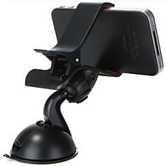 abordables Accesorios de Samsung-sostenedor universal del soporte del soporte del teléfono móvil del coche soporte universal plástico del teléfono móvil de la rotación 360 °