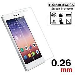 tanie Huawei Folie ochronne-9h premii 0.26mm Shatter ekran anty-szkło hartowane folia ochronna do Huawei Ascend P7