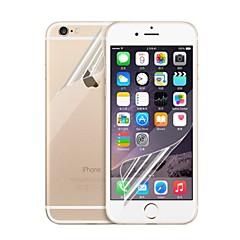 Недорогие Защитные пленки для iPhone 6s / 6 Plus-Защитная плёнка для экрана для Apple iPhone 6s Plus / iPhone 6 Plus 5 ед. Защитная пленка для экрана и задней панели HD