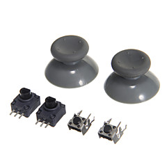 Replacement 3D Rocker Joystick for Xbox 360 LB/RB & LT/RT & Mushroom