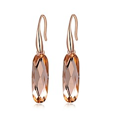 voordelige Druppeloorbellen-Dames Druppel oorbellen Modieus Kristal Verguld Sieraden Bruiloft Feest Dagelijks Causaal Kostuum juwelen