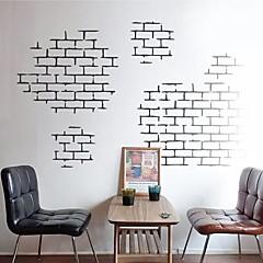 abordables Stickers-Nature morte Forme Architecture Stickers muraux Autocollants avion Autocollants muraux décoratifs, Vinyle Décoration d'intérieur Calque