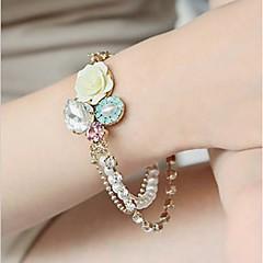 Недорогие Женские украшения-женские розы многослойные бриллиантовый браслет