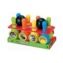 abordables Balones y accesorios-8 pines bolos bolos de plástico fijan los niños de los niños divertidos juegos al aire libre
