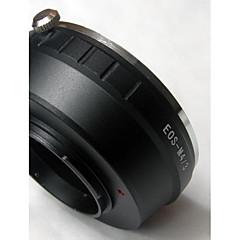 eos ef lins för micro 4/3 m4 / 3 adapter e-p1 e-p2 e-p3 E-PL1 e-PL2 g1 GF2 g3