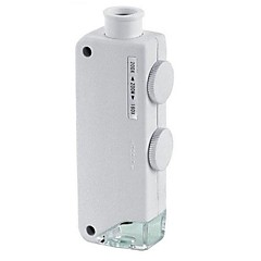 abordables Lupas-Lupas LED 160-200x El plastico
