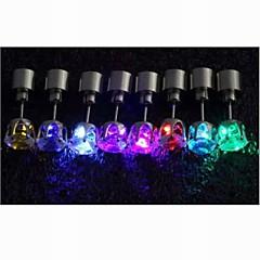 preiswerte Ohrringe-Damen Ohrstecker - Platiert LED Blau / Rosa / 7 Farbiges LED Für Hochzeit / Party / Alltag