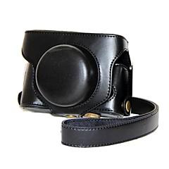 FUJIFILM X30用のショルダーストラップ付きレトロPUレザーカメラ保護ケースをpajiatu®