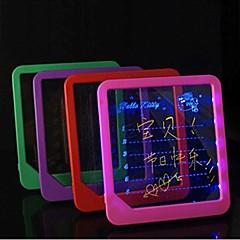 pantalla fluorescente llevado manuscrita tablero luminoso mensaje