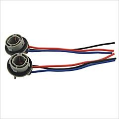 1157 Socket Car Bulb Holder Adapter--2PCS