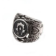 Pierścionki Impreza / Codzienny / Casual Biżuteria Stop Duże pierścionki9½ Srebrne