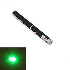 lt-011 forma de caneta 1-padrão ponteiro laser de luz verde (1mw.532nm.2xaaa preto)