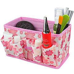 plegable cosméticos quadrate caja de maquillaje soporte de almacenamiento cepillo olla organizador cosmética (3 colores a elegir)