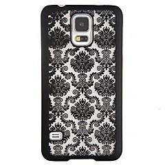 voordelige Galaxy Note 4 Hoesjes / covers-hoesje Voor Samsung Galaxy Samsung Galaxy Note Schokbestendig Patroon Achterkant Lace Printing PC voor Note 4
